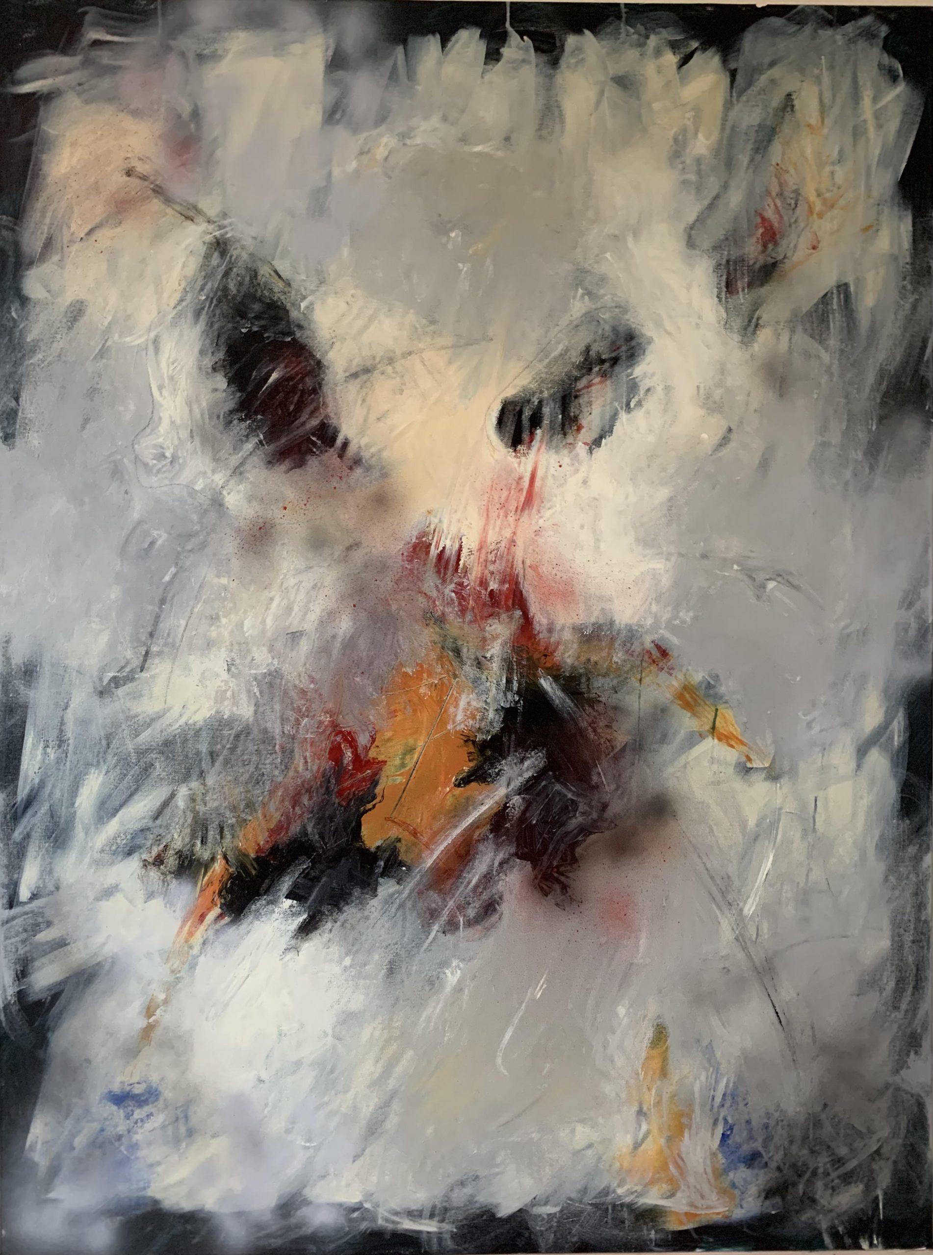 Acrylic on canvas, 160x120cm, 3.500Eur