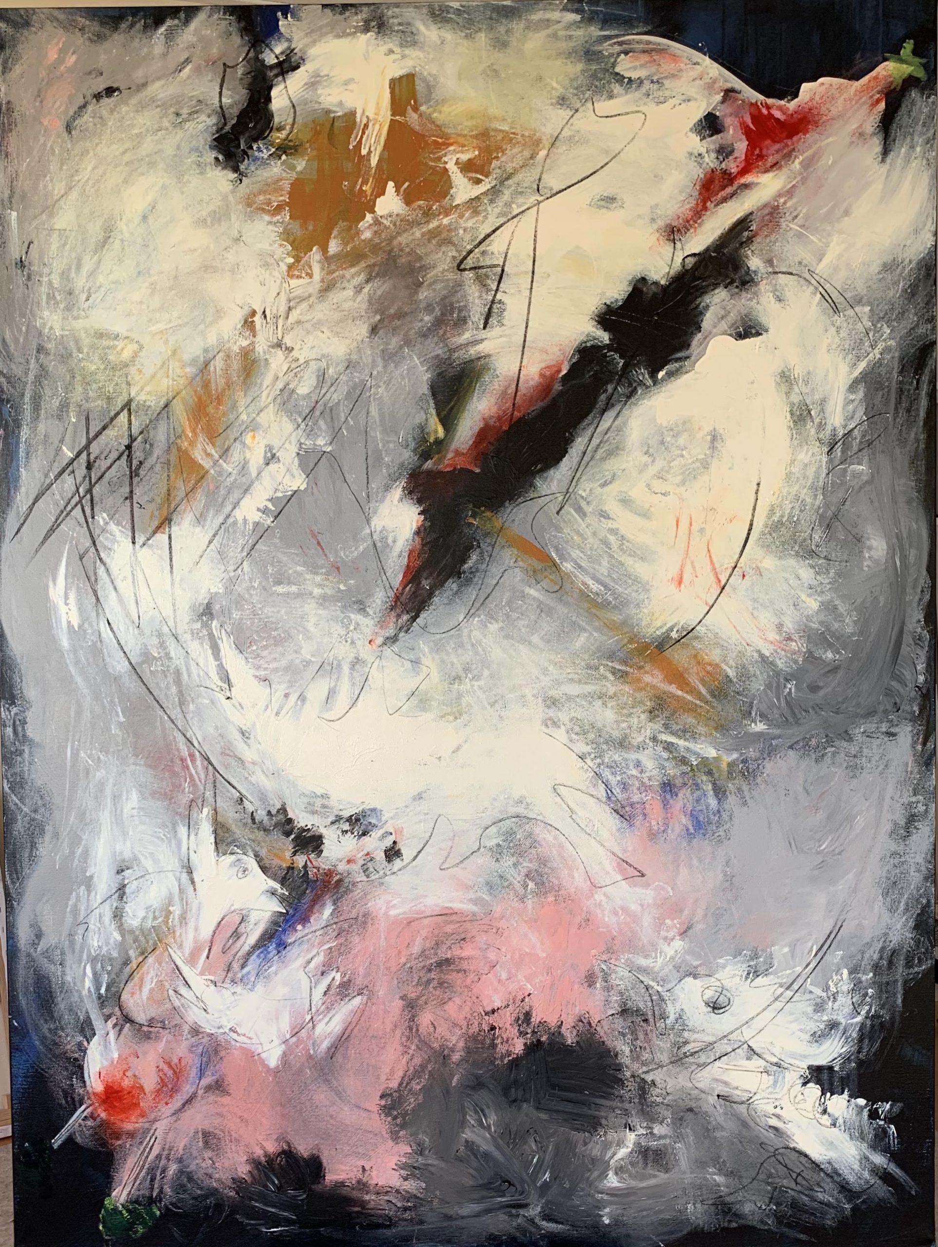 Acrylic canvas, 160x120cm, 3.500Eur