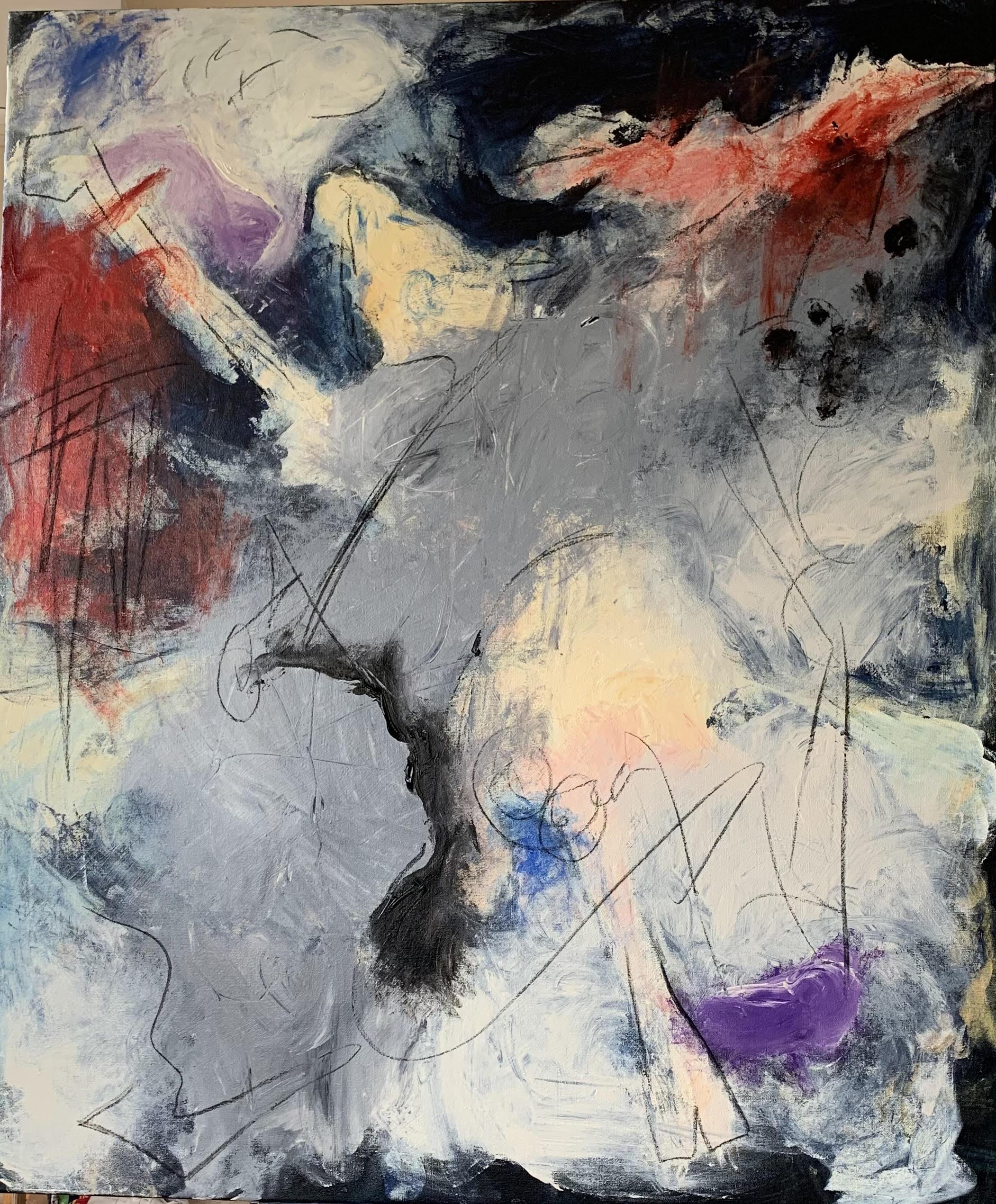 Acrylic canvas, 120x100cm, 2.500Eur